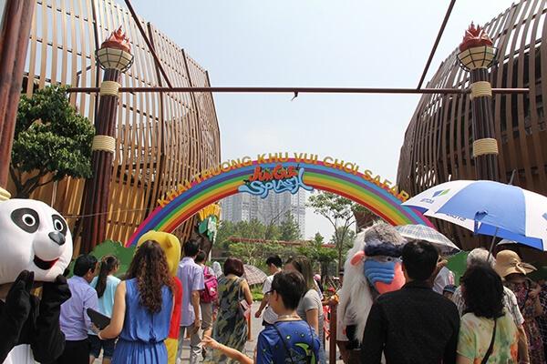 khu vui chơi ở hà nội cho trẻ em