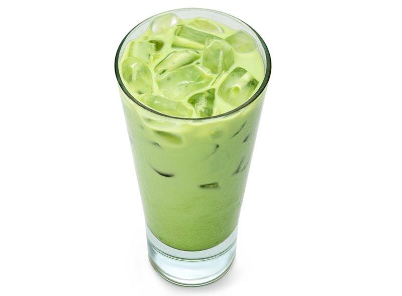 Cách pha trà sữa thái xanh