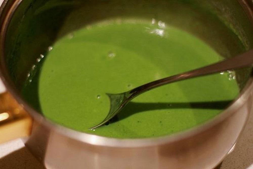 Cách nấu trà sữa thái xanh