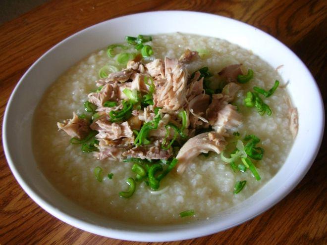 Cách nấu cháo vịt đậu xanh