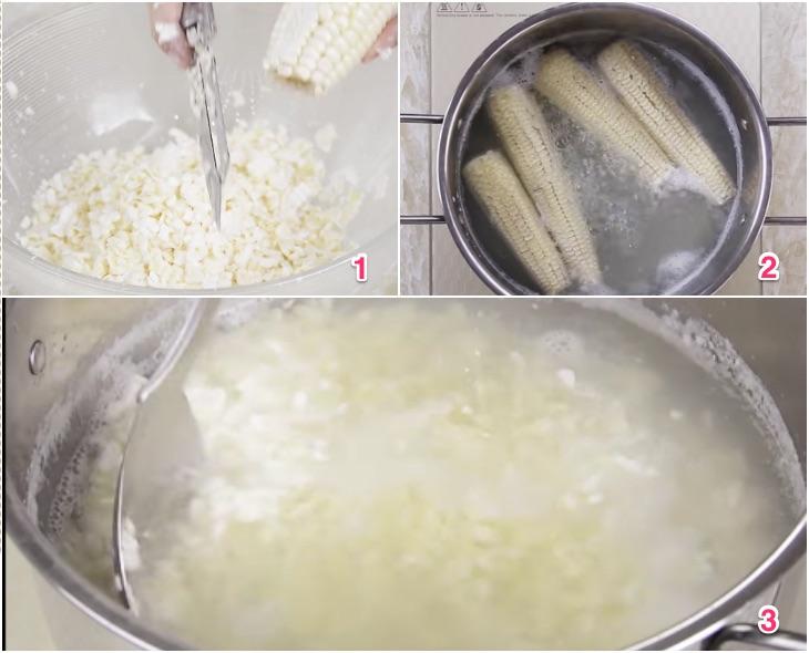 Cách làm chè bắp nếp ngon