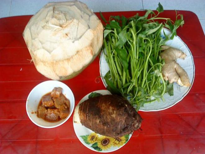 Vịt nấu chao ăn kèm với rau gì