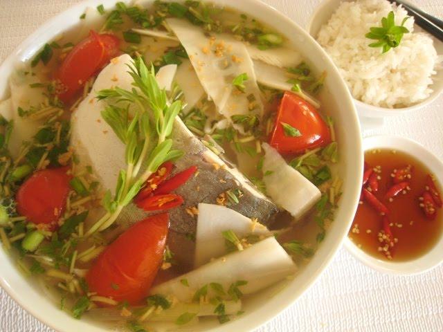 Cá nheo nấu măng chua