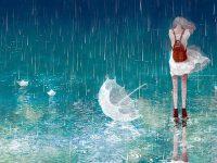 tả cơn mưa