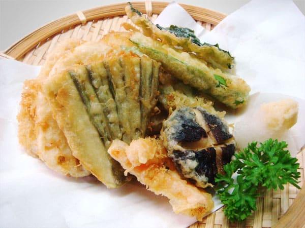 Cách làm tempura rau củ