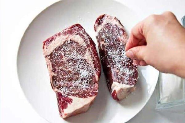 Khâu ướp thịt bò