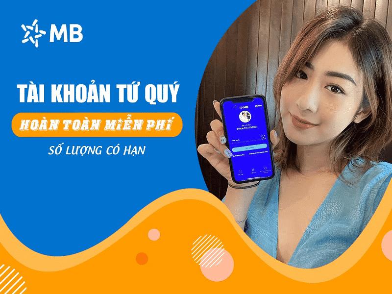 Tại sao bạn nên mở tài khoản số đẹp MB Bank?