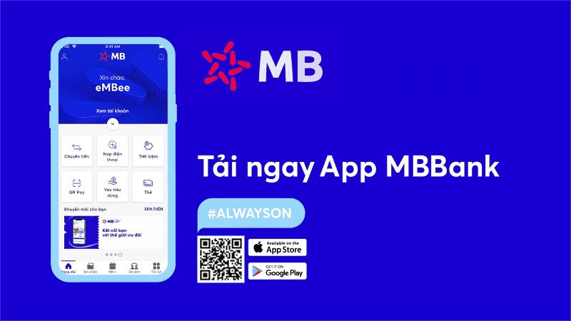 Đăng ký tài khoản trên app MB