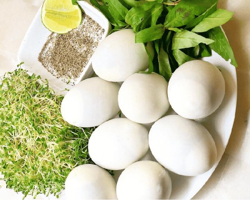 Trứng vịt lộn luộc bao lâu thì chín ngon?