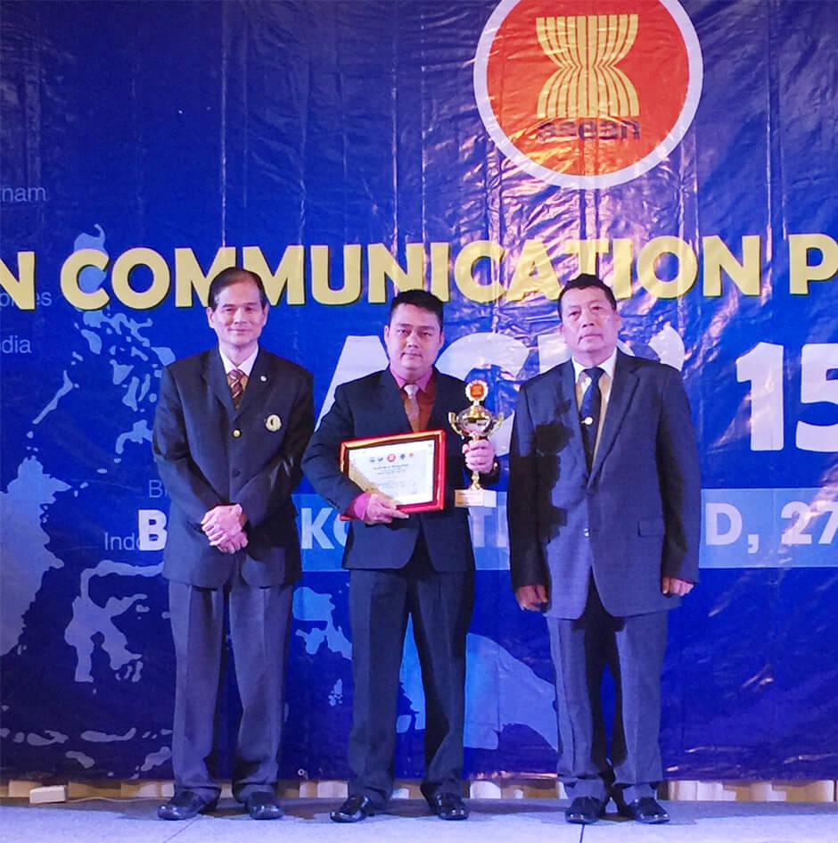 Mỹ phẩm Gold Linh Sam đã được nhận Cúp vàng cho sản phẩm chất lượng ASEAN 2015
