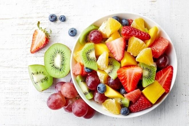 Chăm sóc da mặt với chế độ ăn uống hợp lý