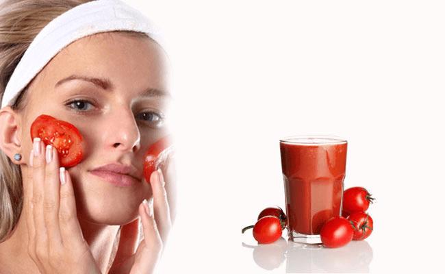 Da mặt sạch mụn nhờ sử dụng cà chua để chăm sóc da