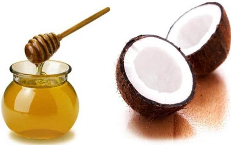 Dầu dừa và mật ong không chỉ làm đẹp da mà còn giúp da dưỡng ẩm rất tốt