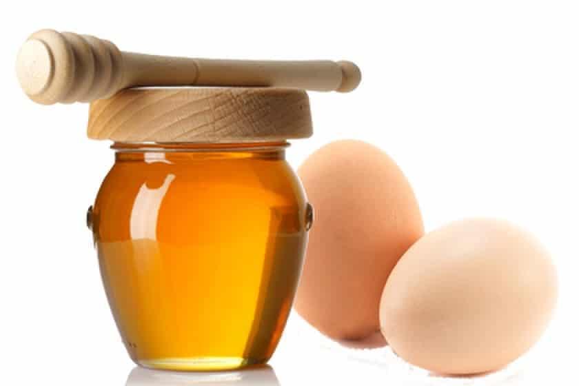 Phương pháp làm đẹp da với mật ong và trứng gà