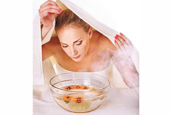 Xông hơi da mặt có thể giúp bạn hết sạch mụn