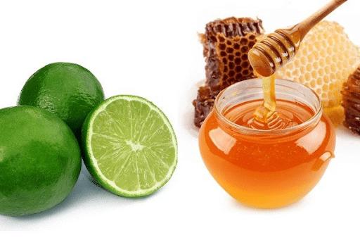 Cách làm trắng da mặt cho nam bằng mật ong và chanh