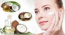 Những tác dụng của dầu dừa với da mặt