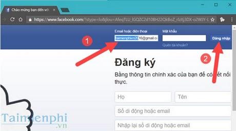 Cach lay lai mat khau - password facebook khi bi mat hoac quen 1