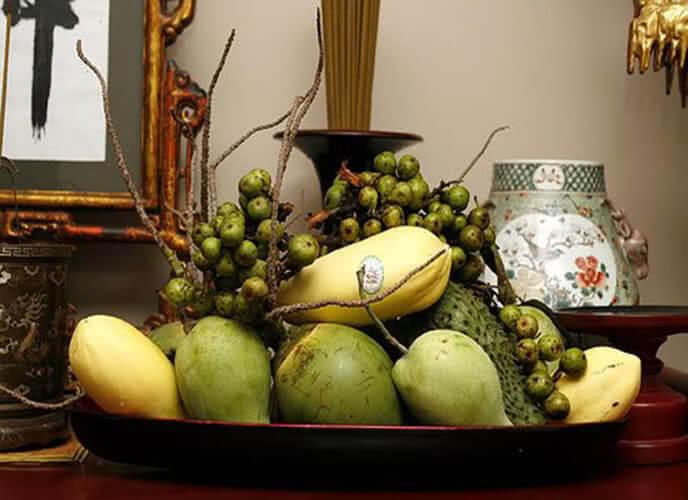 Mâm ngũ quả đẹp ngày tết của người miền Nam