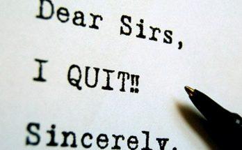Cách viết đơn xin nghỉ việc