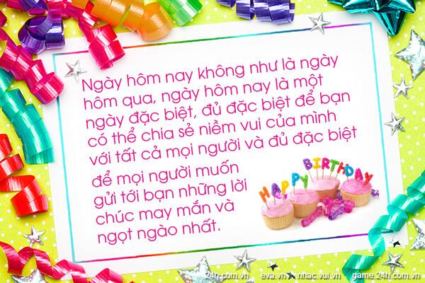 Những lời chúc sinh nhật bạn bè hay nhất