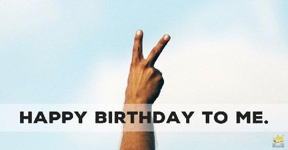 Tự chúc mừng sinh nhật bản thân trên Facebook