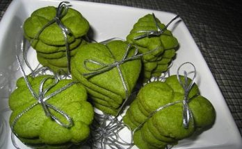 Cách làm bánh quy trà xanh đượm vị mà lại cực đơn giản