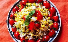 Hướng dẫn cách làm salad ngô cay