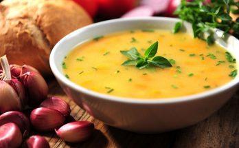Món súp bí đỏ hoàn thiện