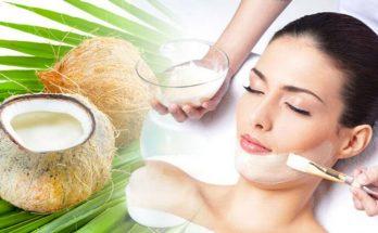 Cách dưỡng da mặt bằng dầu dừa