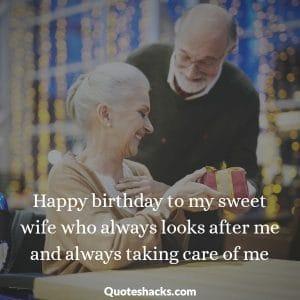 Happy birthday beautiful wife